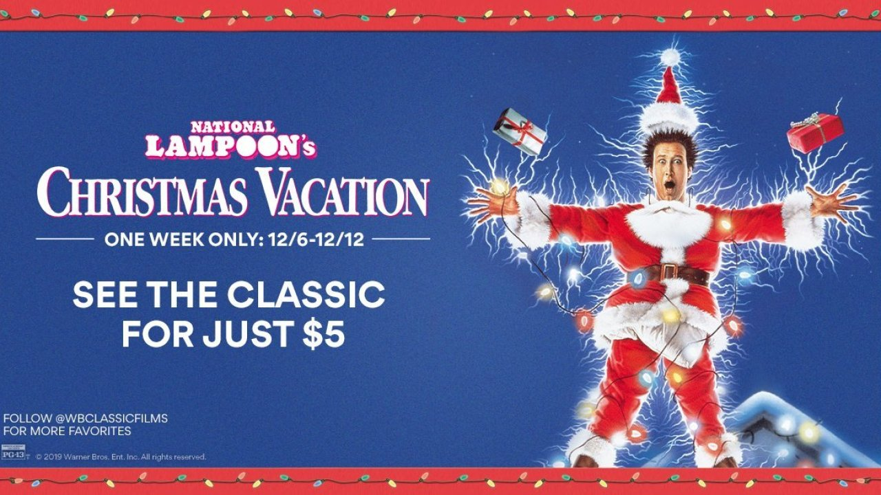 'Christmas Vacation' Returning To Theaters For 30th